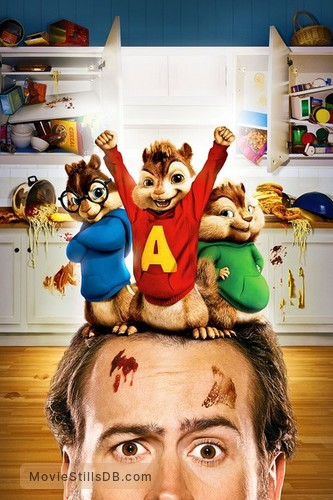 Alvin and the Chipmunks - Promotional art with Jason Lee