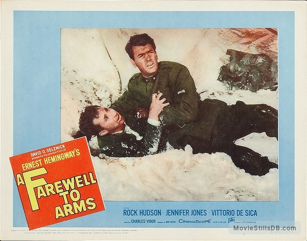 A Farewell to Arms - Lobby card