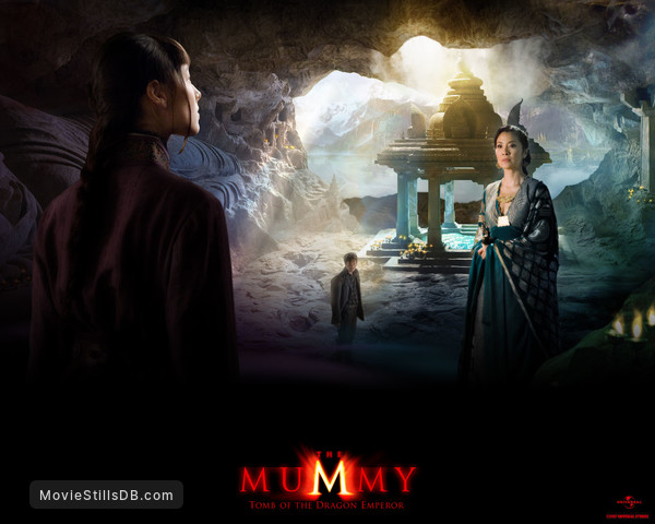 The Mummy Tomb Of The Dragon Emperor Wallpaper With Michelle Yeoh Luke Ford