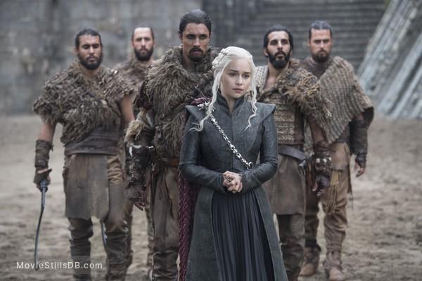 Game of Thrones - Publicity still of Emilia Clarke
