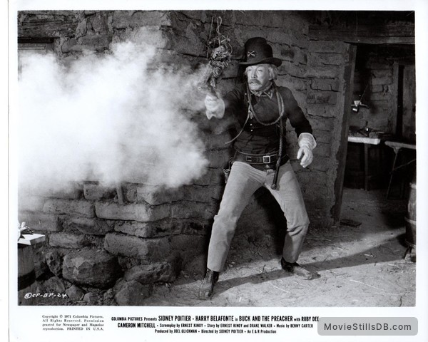Buck and the Preacher - Publicity still of Cameron Mitchell