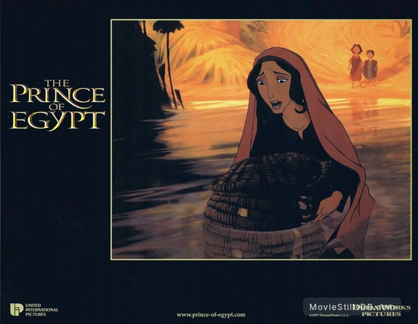 The Prince of Egypt - Lobby card