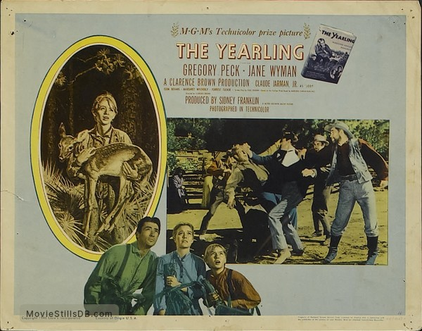 The Yearling - Lobby card