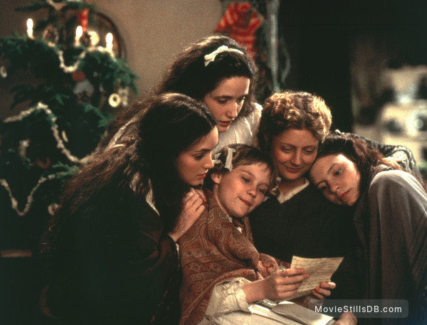 Little Women - Publicity still of Winona Ryder, Trini Alvarado, Kirsten Dunst, Susan Sarandon & Claire Danes