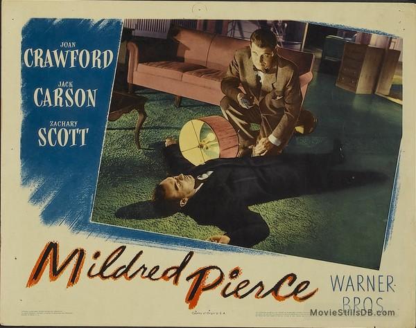 Mildred Pierce - Lobby card with Zachary Scott & Jack Carson