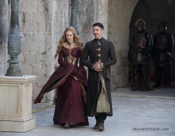Game of Thrones - Publicity still of Lena Headey & Aidan Gillen