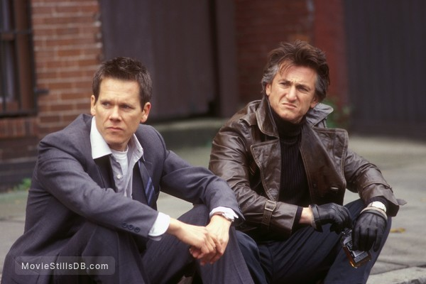 Mystic River - Publicity still of Sean Penn & Kevin Bacon