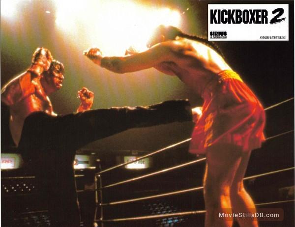 Kickboxer 2 - Lobby card with Sasha Mitchell