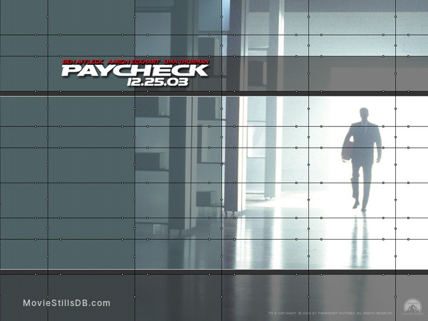 Paycheck - Wallpaper with Ben Affleck