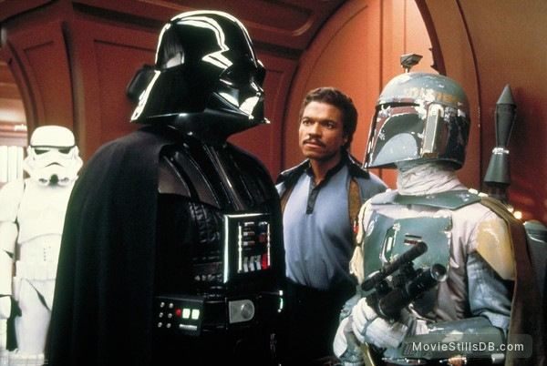 Star Wars: Episode V - The Empire Strikes Back - Publicity still of Billy Dee Williams, David Prowse & Jeremy Bulloch