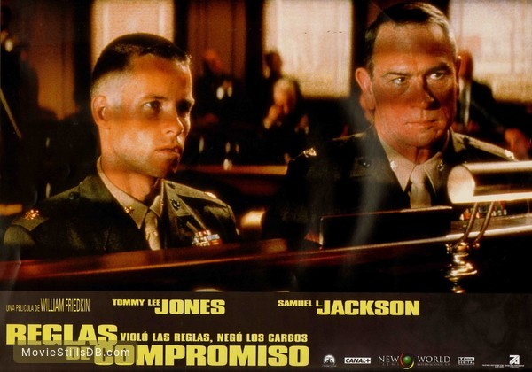 Rules of Engagement - Lobby card with Tommy Lee Jones & Guy Pearce