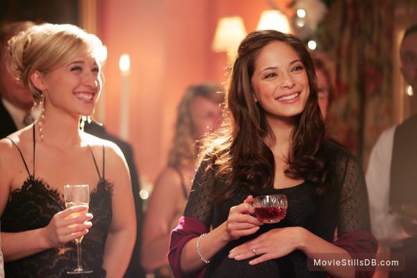 Smallville - Publicity still of Kristin Kreuk & Allison Mack
