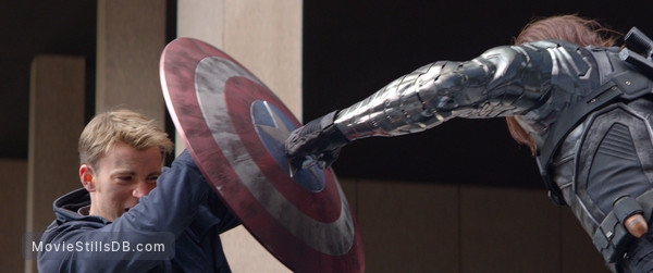 Captain America: The Winter Soldier - Publicity still of Chris Evans