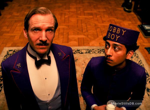 The Grand Budapest Hotel - Publicity still of Ralph Fiennes & Tony Revolori