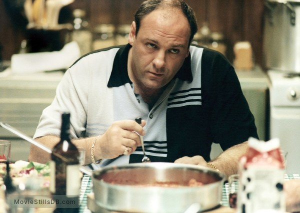 The Sopranos - Publicity still of James Gandolfini