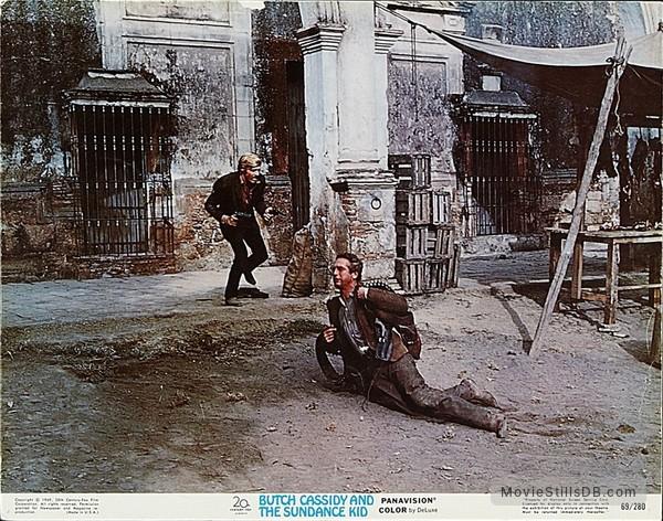 Butch Cassidy and the Sundance Kid - Lobby card with Paul Newman & Robert Redford