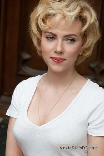 Hitchcock - Publicity still of Scarlett Johansson