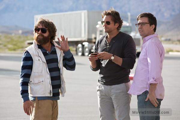 The Hangover Part III - Publicity still of Bradley Cooper, Zach Galifianakis & Ed Helms