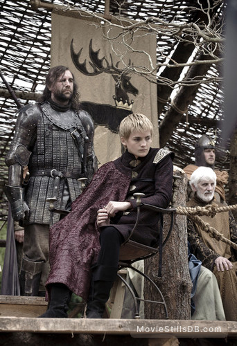 Game of Thrones - Publicity still of Jack Gleeson & Rory McCann