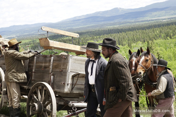 Hell on Wheels - Publicity still of Anson Mount & Dohn Norwood