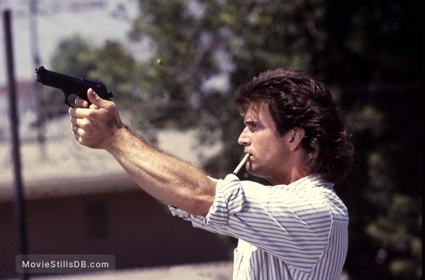 Lethal Weapon - Publicity still of Mel Gibson
