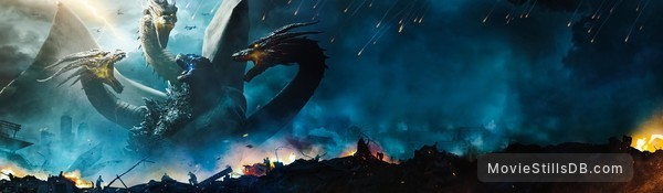Godzilla: King of the Monsters - Promotional art