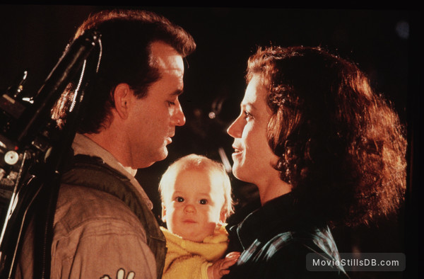 Ghostbusters II - Publicity still of Bill Murray, Sigourney Weaver, William T. Deutschendorf & Henry J. Deutschendorf II