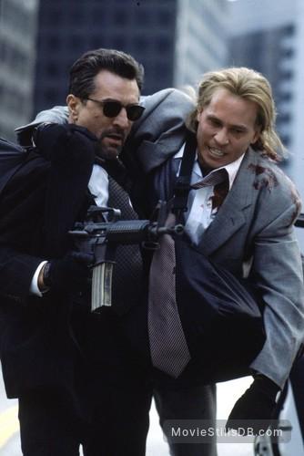Heat - Publicity still of Robert De Niro & Val Kilmer