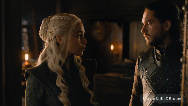 Game of Thrones -  Kit Harington & Emilia Clarke