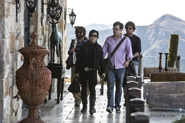The Hangover Part III - Publicity still of Bradley Cooper, Zach Galifianakis, Ed Helms & Ken Jeong