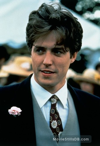 Four Weddings And A Funeral Publicity Still Of Hugh Grant