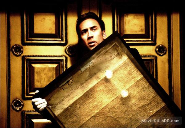 National Treasure - Publicity still of Nicolas Cage