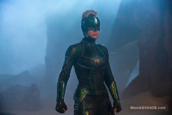 Captain Marvel - Publicity still of Brie Larson