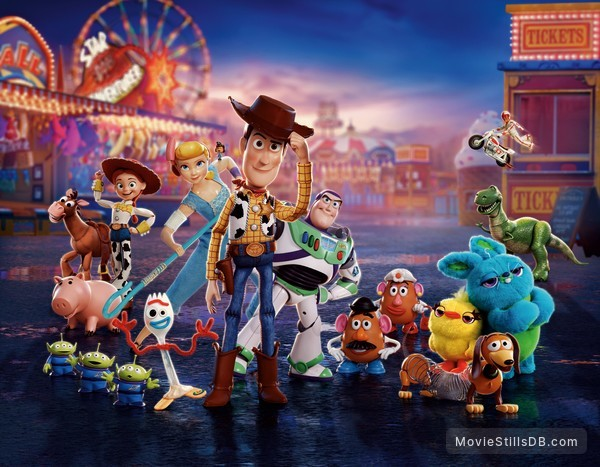 Toy Story 4 - Promotional art