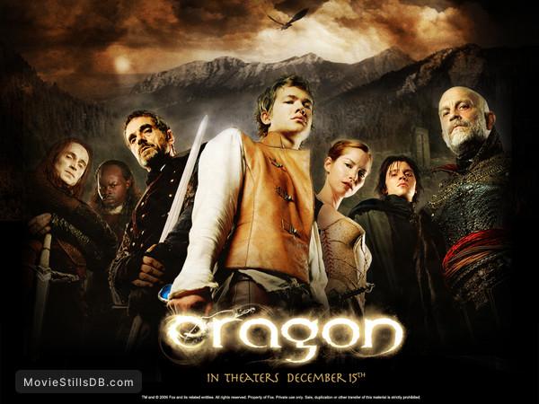 Eragon - Wallpaper with John Malkovich, Robert Carlyle, Sienna Guillory, Jeremy Irons, Ed Speleers, Garrett Hedlund & Djimon Hounsou