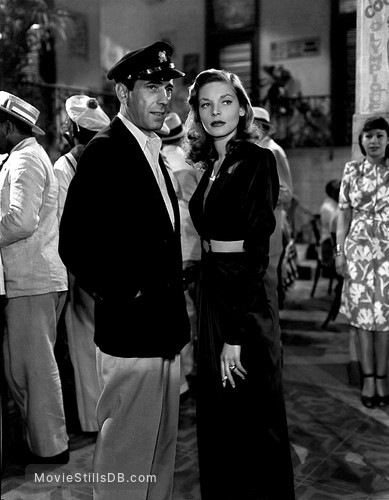 To Have and Have Not - Publicity still of Humphrey Bogart & Lauren Bacall