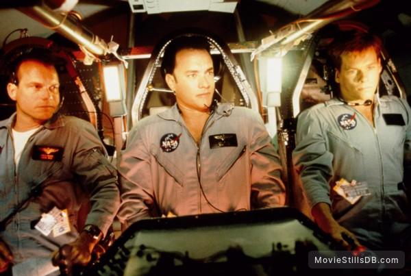 Apollo 13 - Publicity still of Kevin Bacon, Tom Hanks & Bill Paxton