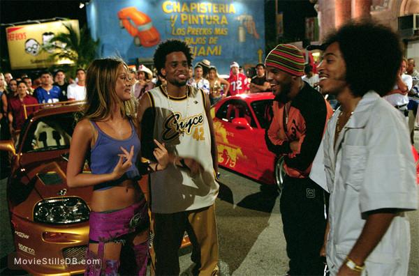 2 Fast 2 Furious - Publicity still of Devon Aoki, Ludacris, Amaury Nolasco & Michael Ealy