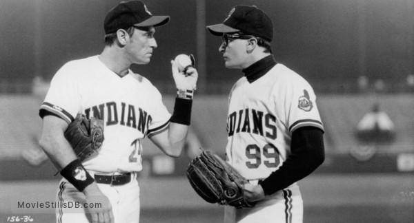 Major League - Publicity still of Corbin Bernsen & Charlie Sheen