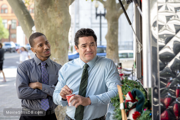 Broadcasting Christmas - Publicity still of Dean Cain