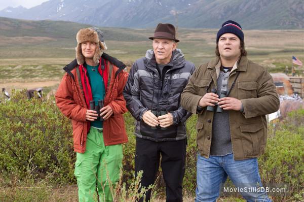 The Big Year - Publicity still of Steve Martin, Jack Black & Owen Wilson