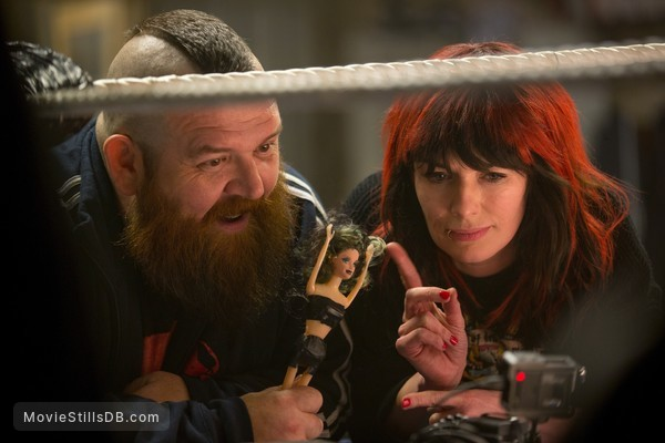Fighting with My Family - Publicity still of Nick Frost & Lena Headey