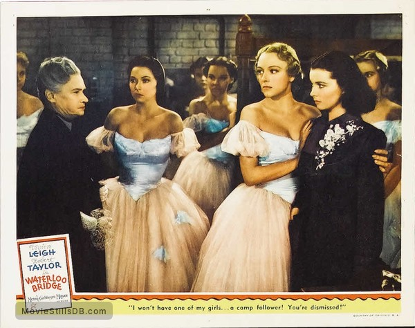 Waterloo Bridge - Lobby card