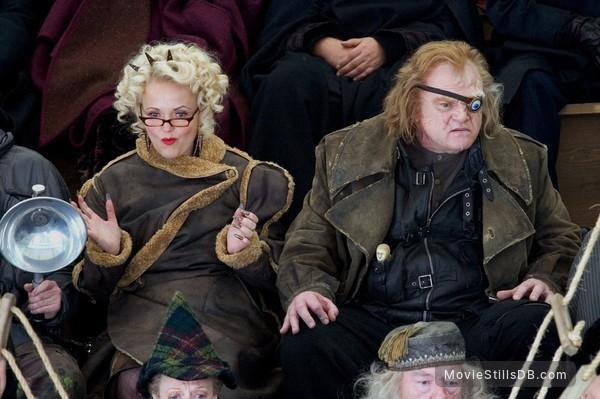 Harry Potter and the Goblet of Fire - Publicity still of Brendan Gleeson & Miranda Richardson