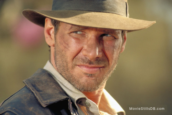 Indiana Jones and the Temple of Doom - Publicity still of Harrison Ford