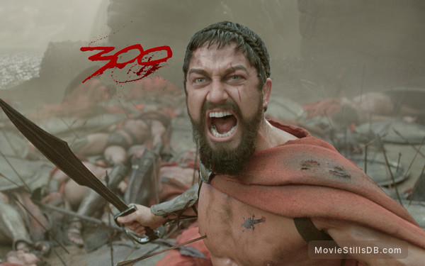 300 - Wallpaper with Gerard Butler
