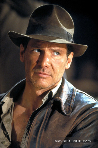 Indiana Jones and the Last Crusade - Publicity still of Harrison Ford