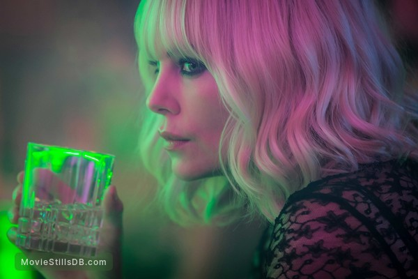 Atomic Blonde - Publicity still of Charlize Theron