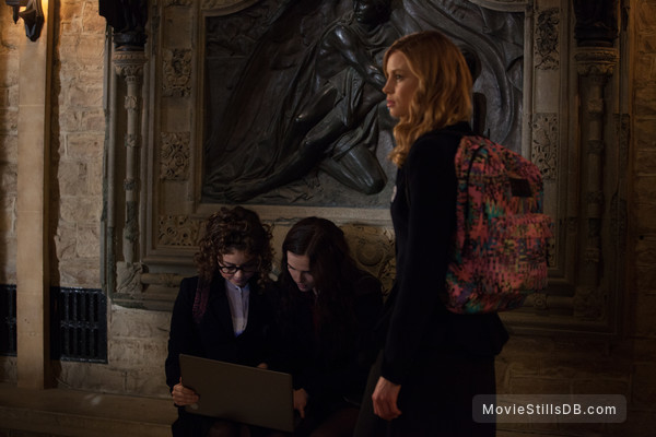 Vampire Academy - Publicity still of Zoey Deutch, Sarah Hyland & Lucy Fry