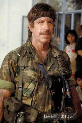 Braddock: Missing in Action III - Publicity still of Chuck Norris